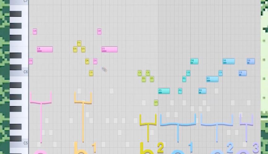ゲーム音楽の作曲方法【コツはモチーフ】