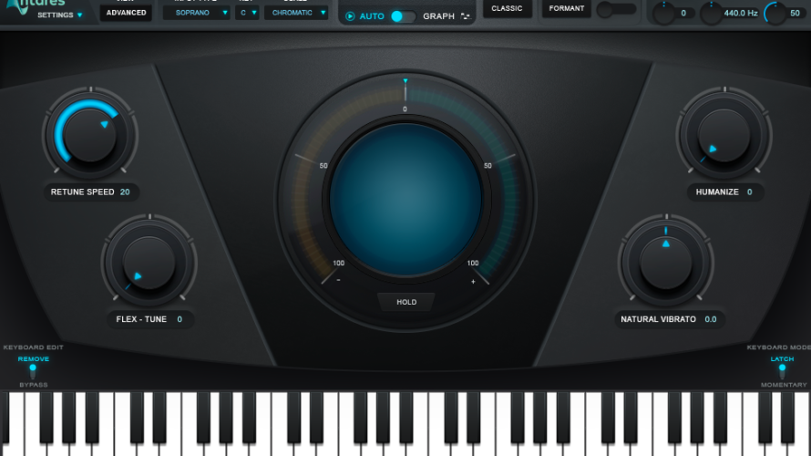 【DTM】ボーカル補正ソフト「Auto-Tune Pro」の使い方【AUTOモード】