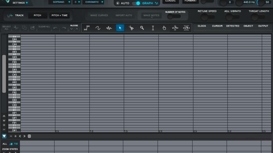 【DTM】ボーカル補正ソフト「Auto-Tune Pro」の使い方【GRAPHモード】